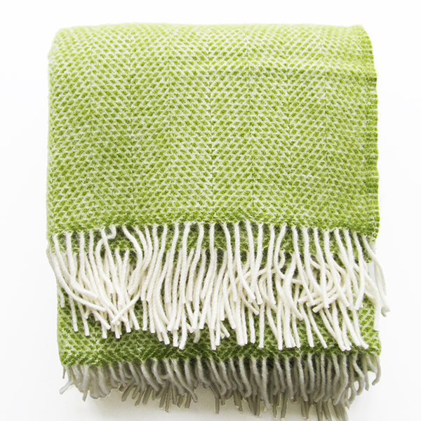 mosaic-wool-throw-green